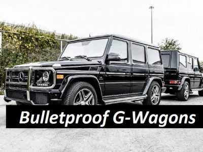Bulletproof G-wagons