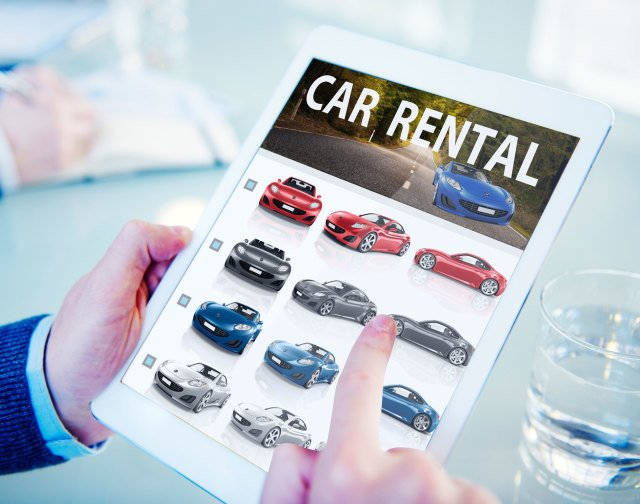 rental cars from airport